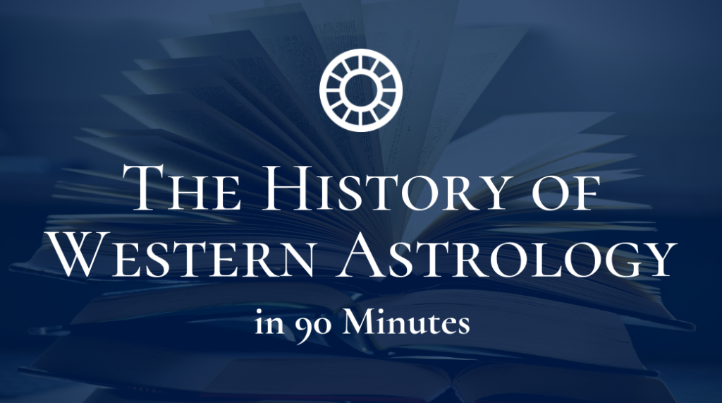 The History of Western Astrology