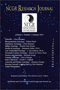 NCGR journal