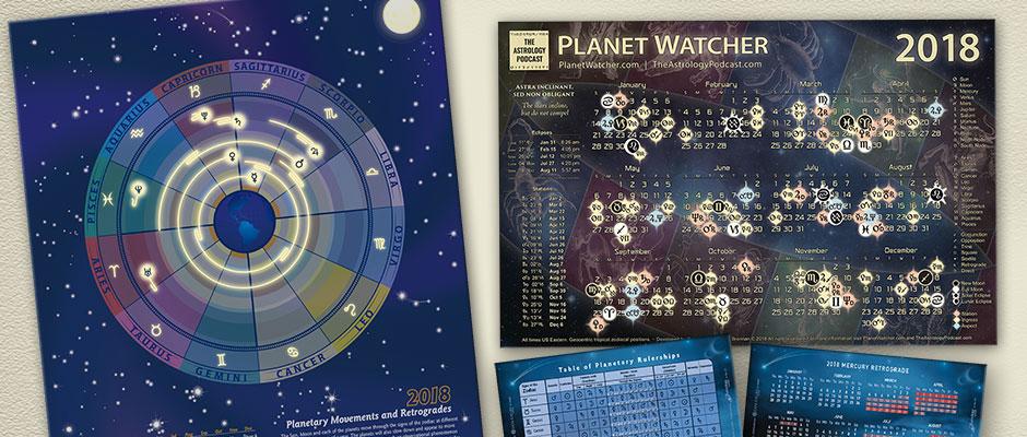 2018 Astrology Calendars