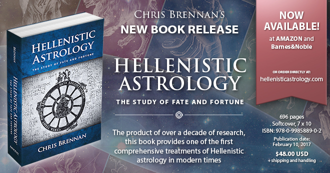 Hellenistic astrology book