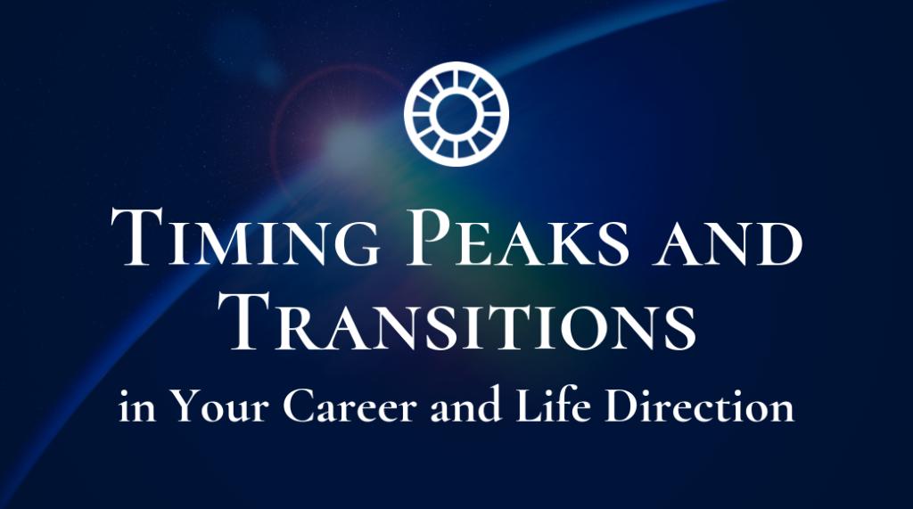 Timing Peak Transitions